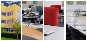 Bildausschnitte unserer Seminarräume in Paderborn