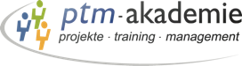 Logo and link to ptm-akademie